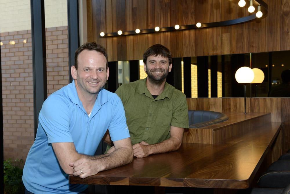 Luc Simard et David Simard