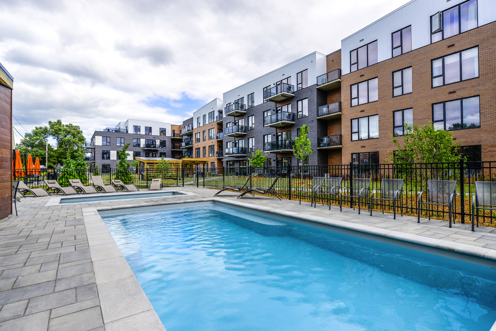Condo with outdoor pool